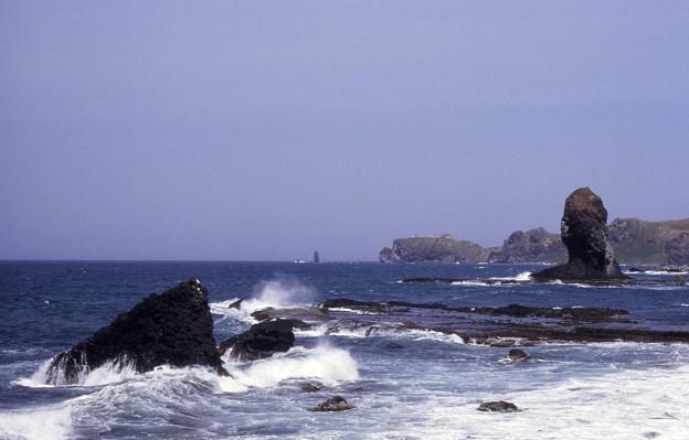 神威岬遠望