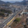 Photos: ドクターイエロー相生駅通過 2016/2/11