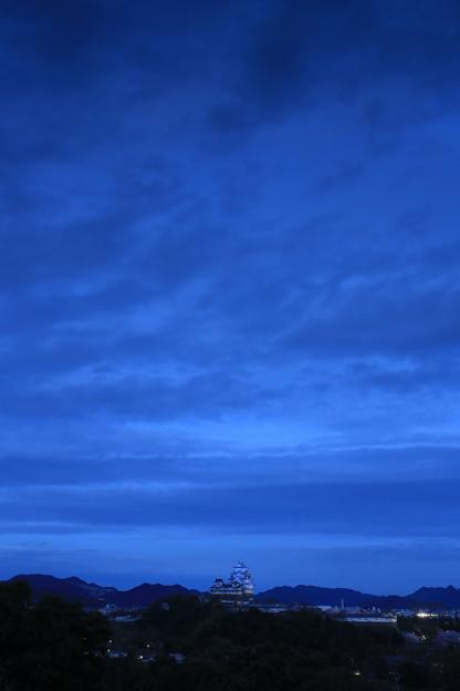 Photos: ブルーモーメントと青いお城