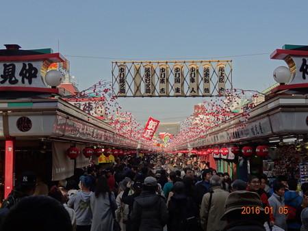 2016年浅草寺初詣