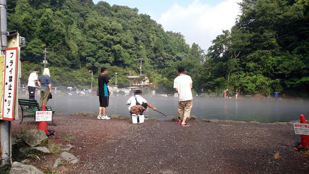 Photos: 真夏はやっぱりすそのフィッシングパークだね^^