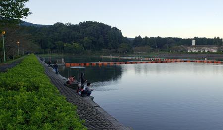 2018-2019オープン四日目平日の東山湖へ^^