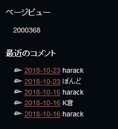 20181026 傾奇者200万ページビュー