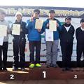 第18回 トラウトキング選手権 鬼怒川ペア戦表彰台