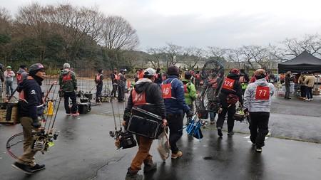 2018年 ティモンカップ in 東山湖 冷やかしに^^