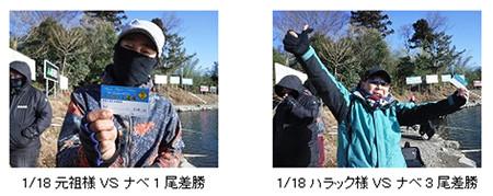 管釣りアミューズメントパークMAVで元祖の祝賀会