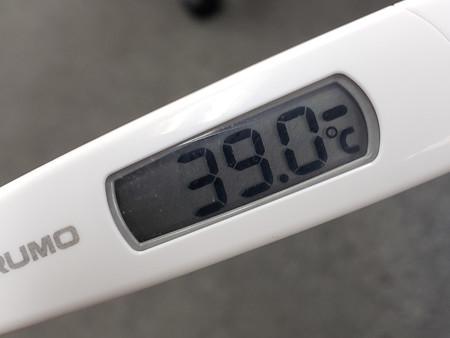 インフルエンザ?高熱発生