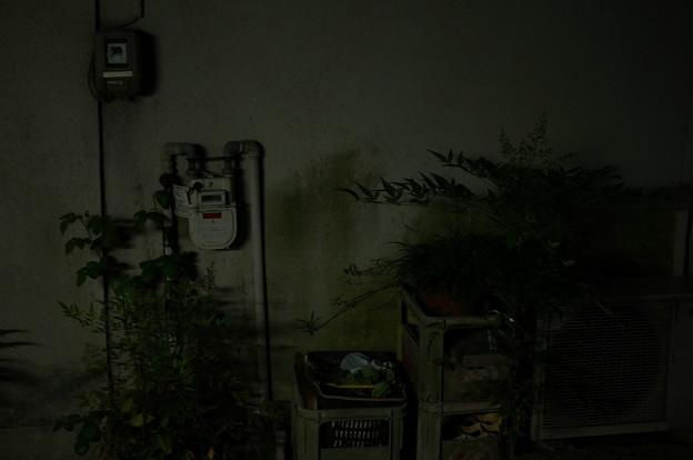 夜のメーター