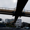 写真: 歩道橋