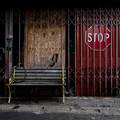 写真: STOP