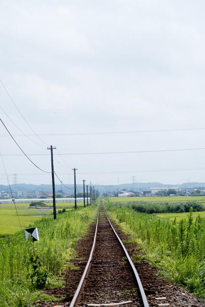 Photos: 線路は続くよ