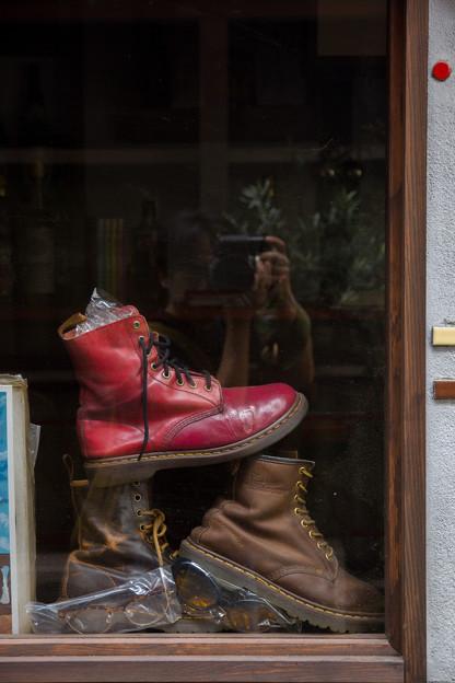 赤いブーツ