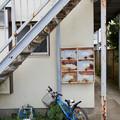 Photos: 階段下