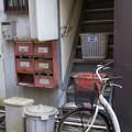 Photos: 階段とポスト
