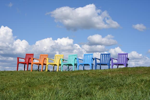 虹色の・・・