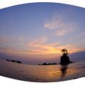 雨晴海岸 >:< 今朝の雨晴海岸 DSCF3852