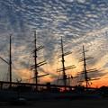 写真: 海王丸パークと雲 IMG_4173