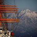 写真: 海王丸と剣岳 IMG_2140