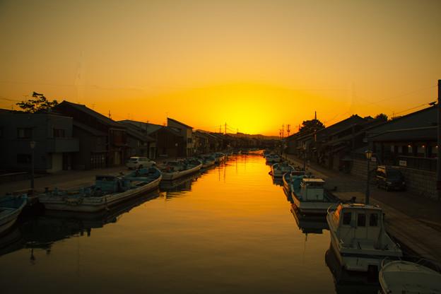 内川サンセット IMG_2127