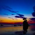 写真: 夜明け前の雨晴海岸 IMG_8225(2)
