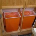 写真: キッチンの収納棚