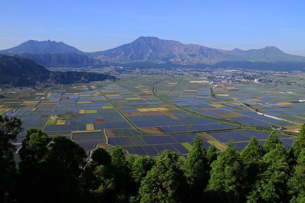☆水上の阿蘇五岳