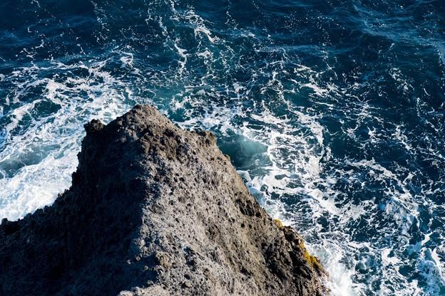 石廊崎の波