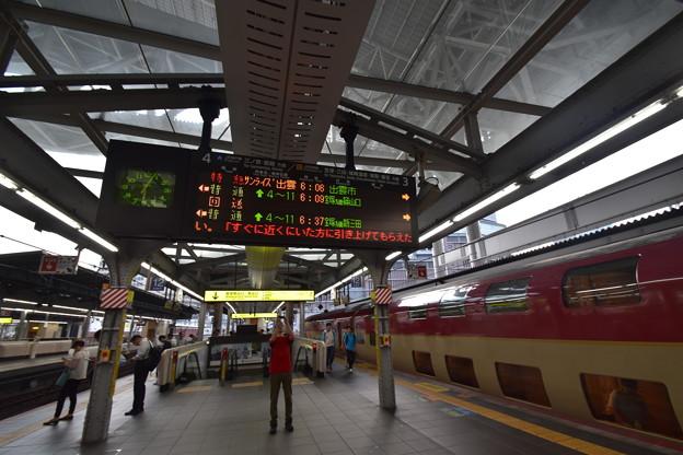 大阪駅に着く下りサンライズ出雲