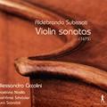 写真: スビサーティ:1675年のソナタ集(全17曲)~コレッリ以前の北イタリア・ヴァイオリン芸術