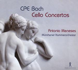 写真: C.P.E.バッハ:チェロ協奏曲全集(全3曲)