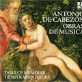 写真: カベソーンと、16世紀のヨーロッパ音楽さまざま