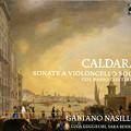 写真: カルダーラ:チェロと通奏低音のためのソナタ集
