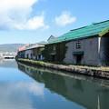 写真: 小樽運河の朝