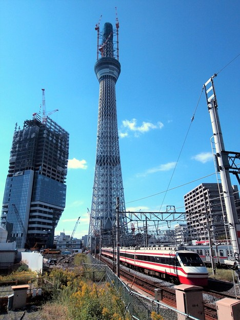 Photos: 東武特急スペーシア