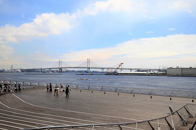 Photos: 大桟橋から