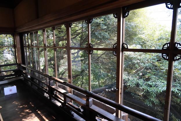 昭和のガラス窓