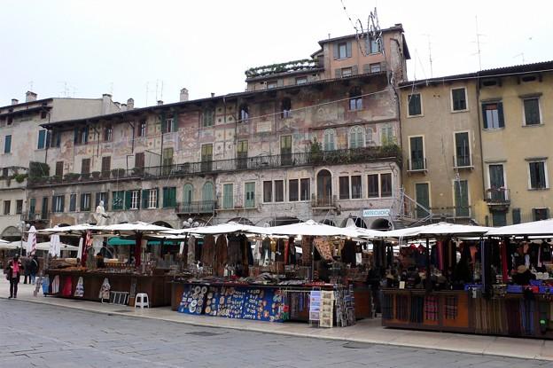 イタリアの露店