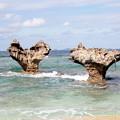 Photos: ハート岩