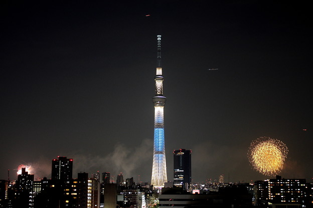 Photos: 隅田川花火2012