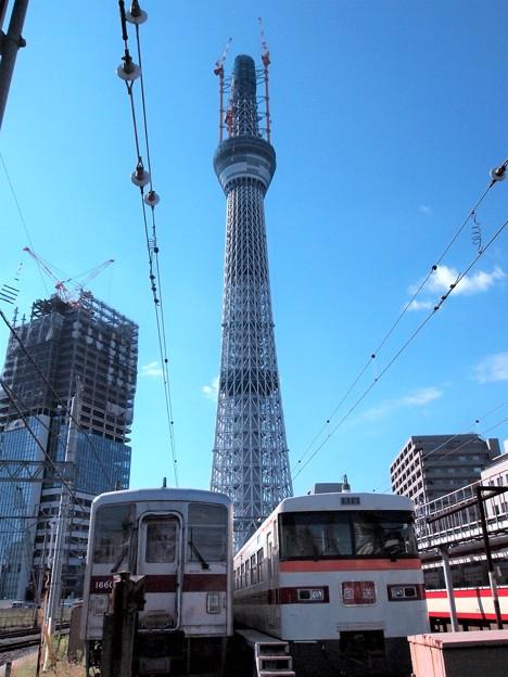 2010.10押上駅付近