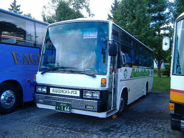 北海道ミントバス 北見200か166