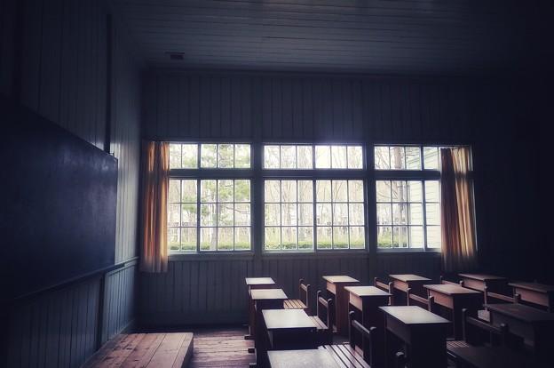 昔の学び舎