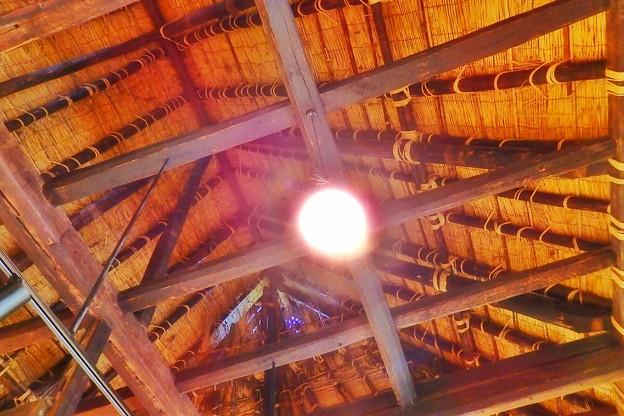 古民家の屋根