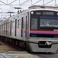 写真: 京成3000形(二代目) 3002編成 架線検測列車