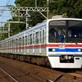 写真: 京成3400形 3428編成 試運転列車