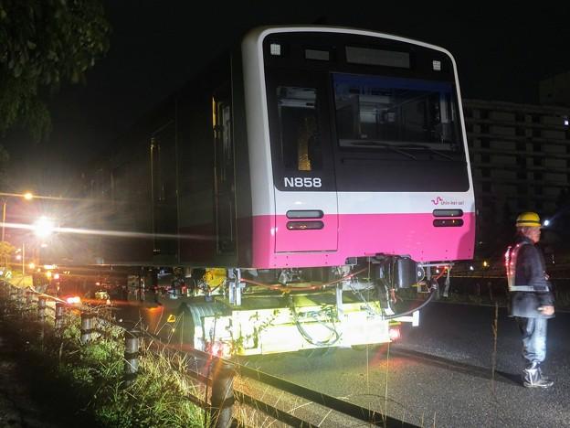 新京成N800形 N858号車 新車陸送