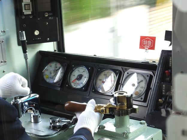京成3500形 特急 運転台