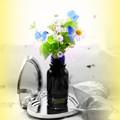 写真: 小花を摘んで^^