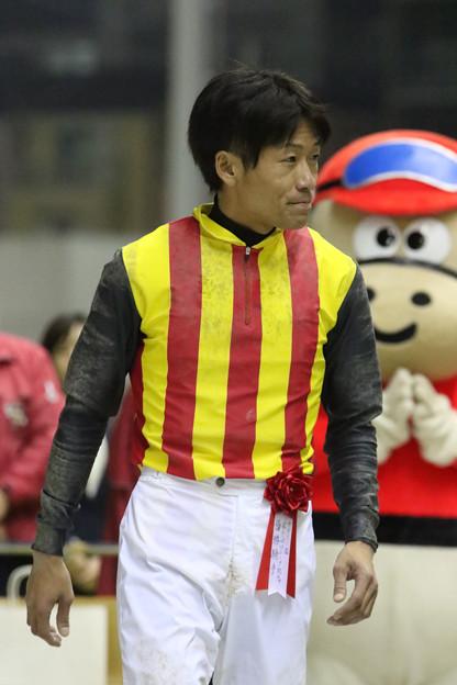 写真: 森 泰斗 騎手(17/11/08・第28回 ロジータ記念)