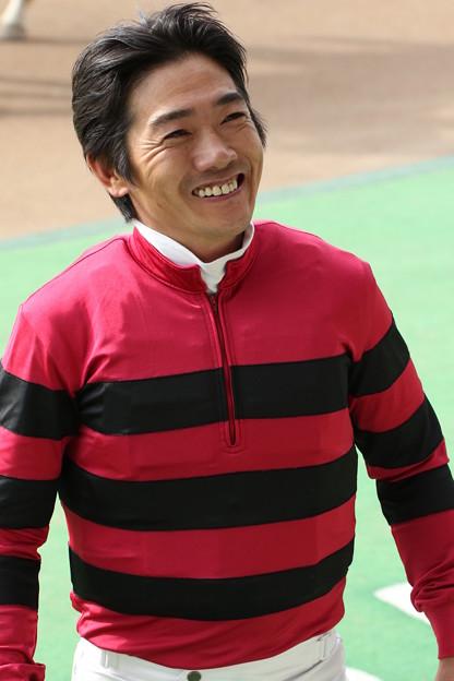 田中 勝春 騎手(17/02/05・1R)